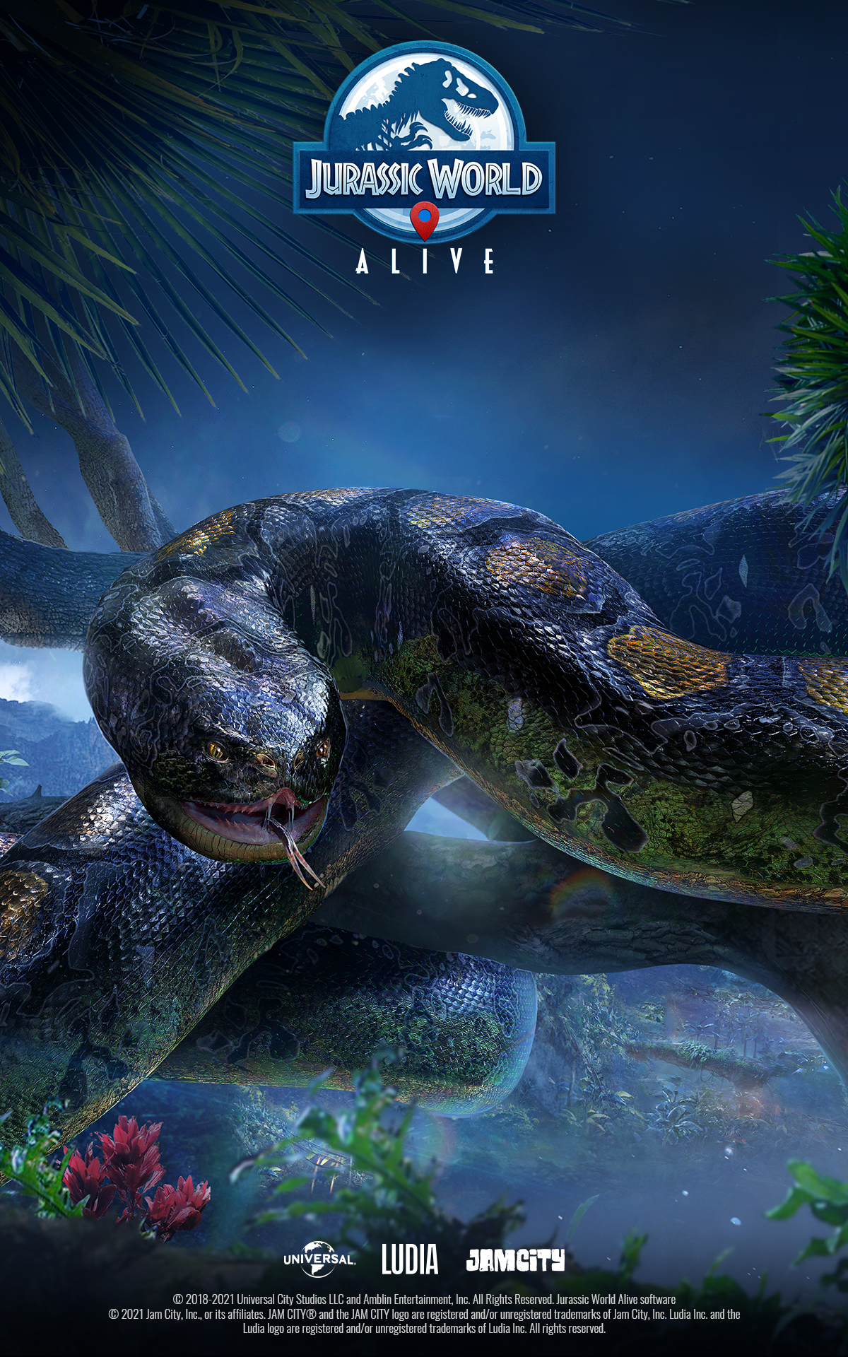 jurassic world alive available now